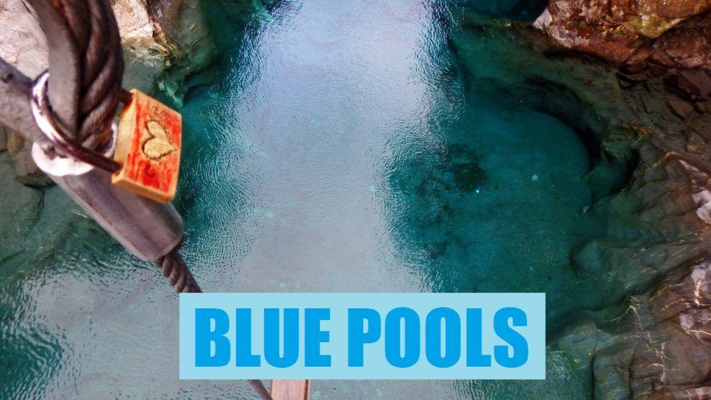 Blue pools,piscinas naturales en Nueva Zelanda