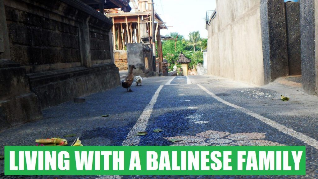 Woofing con una familia balinesa