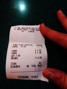 coste una comida en Chinatown Singapur