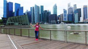 visitar el centro financiero de Singapur