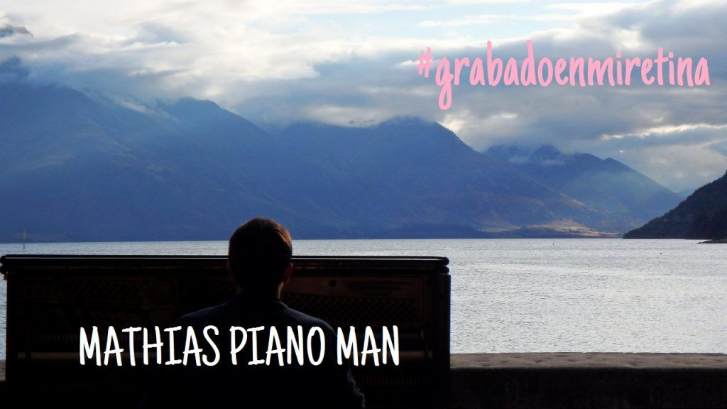 Mathias piano mar Queenstown Nueva Zelanda