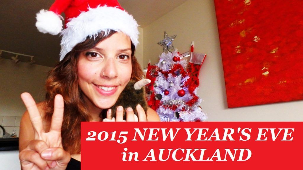 Nochevieja 2015 Auckland Nueva Zelanda