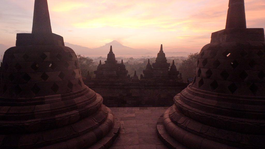 Templo de Borobudur, Java, Indonesia
