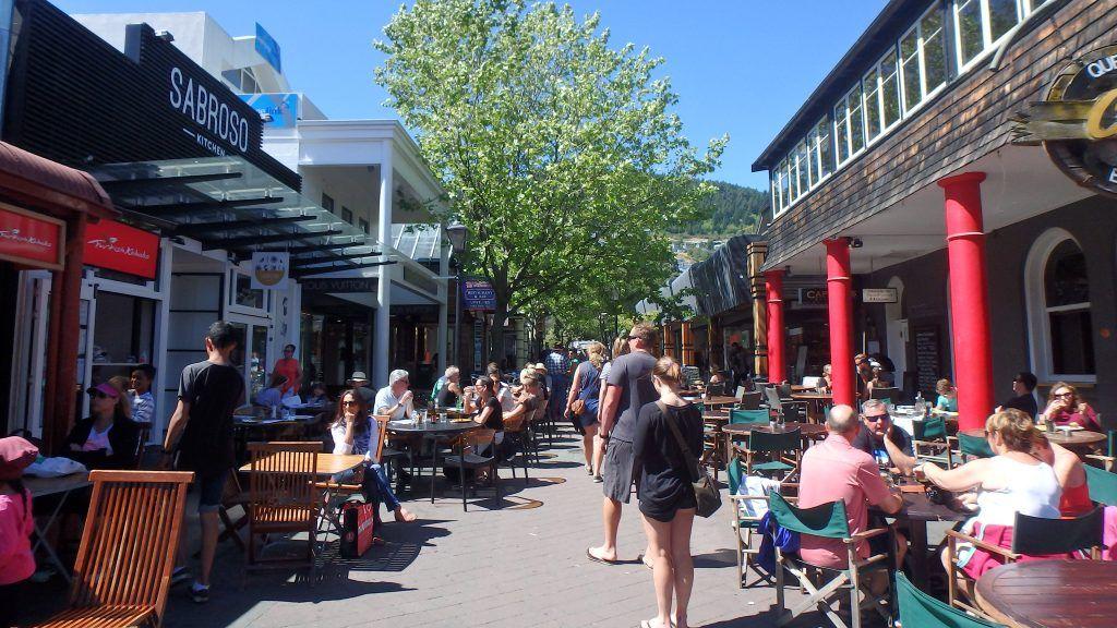 calle principal de Queenstown